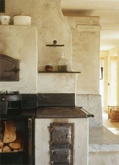 Küchen Design, House Design, Nail Design, Tadelakt, Cob Houses, Earth Homes, Natural Building, Earthship, Interior Design Kitchen