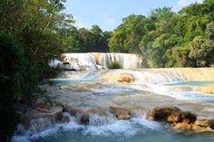 Agua azul   Palenque, Chiapas.