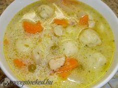 Kipróbált Nyírségi gombócleves recept egyenesen a Receptneked.hu gyűjteményéből…