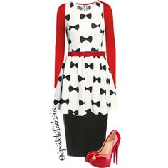 A fashion look from September 2015 by apostolicfashions featuring LE3NO, Dorothy Perkins, Christian Louboutin and Marni