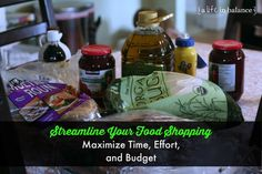 Streamline Your Food Shopping: Before your kids go back to school, think about stream lining your food shopping for the fall. My food shopping strategy is a combination of maximizing time/effort and our budget without using coupons. I just don't have time during the school year to make extra trips to the food store for something I forgot.