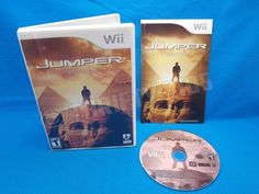 Jumper Griffin's Story for Nintendo Wii 2008 Complete Fully Tested