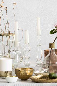 Castiçal de vidro | H&M