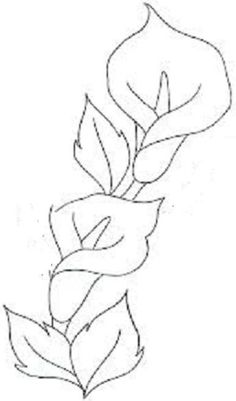 Calla fleurs de lis motifs broderie brother – toutes-les-grille… grilles gratu… Calla Lilienmotive Stickerei Bruder – all-the-grid … Frei Kreuzstich Stricken häkeln Amigurumi Hand Embroidery Designs, Embroidery Stitches, Embroidery Patterns, Art Floral, Colouring Pages, Coloring Books, Flower Sketches, Stencil Patterns, Stained Glass Patterns