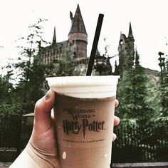 Pinterest: @MagicAndCats ☾ harry potter, hogwarts, and drink image