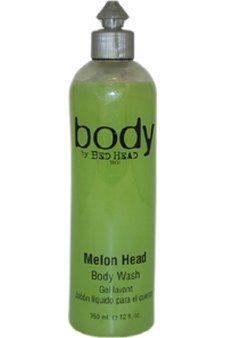 TIGI Bed Head Melon Head Body Wash Unisex, 12 Ounce by TIGI. $8.59. 12 oz.. Body Wash. Treat yourself to lovely melon smelling product. Melon Head Body Wash refreshes skin to leave it cleansed and moisturised.. Save 14%!