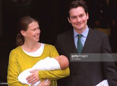 Lady Sarah Chatto And Husband Daniel Leave The Portland Hospital With Their New Baby Boy Samuel Born On Sunday.