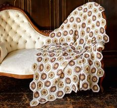 Häkeldecke Wingback Chair, Tricks, Accent Chairs, Lounge, Couch, Blanket, Bed, Furniture, Home Decor