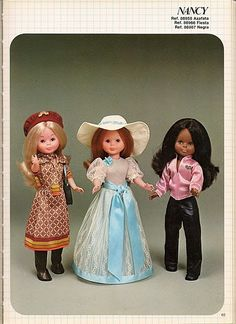 Índice catálogos Página Principal Vestidos Nancy, Nancy Doll, Dolly Doll, Catalogue, Vintage Dolls, Doll Toys, My Childhood, Girl Dolls, American Girl