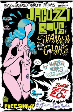 Jacuzzi Boys/Shannon and the Clams - The GaragePunk Hideout
