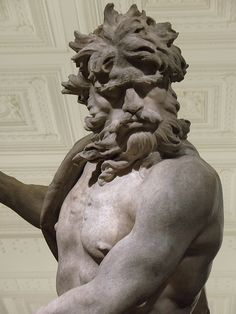 Neptune and Triton [detail] - by Gian Lorenzo Bernini