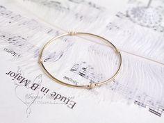 Tùy chỉnh mô hình. Minimalist tốt 14K chiếc vòng vàng / dây đeo cổ tay - Trạm toàn cầu Taobao