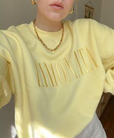 3 Likes, 0 Comments - Add Colors Too Outfits Hm Outfits, Trendy Outfits, Summer Outfits, Fashion Outfits, Womens Fashion, Fashion Trends, Yellow Outfits, Fashion Weeks, Sweat Style