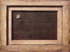 """Cornelis Norbertus Gijsbrechts, """"Cuadro al revés"""", 1670."""