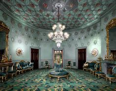 Rooms of the whitehouse | White House Blue Room
