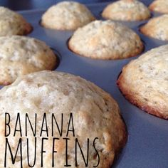 Awesome Banana Nut Muffins