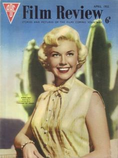 "Doris Day ~ ""Film Review"" magazine, April 1955..."