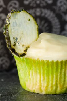 Cucumber Martini Cupcake - from Cupcake Project