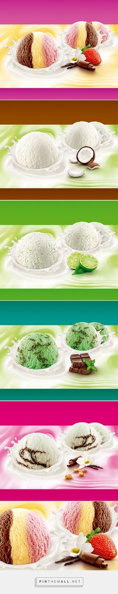 Sorvete Carrefour on Behance... - a grouped images picture - Pin Them All