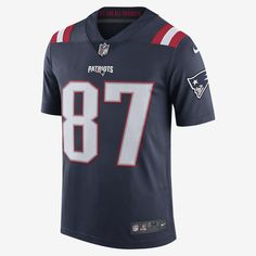 Nike Nfl New England Patriots Color Rush Limited (Rob Gronkowski) Men's Football Jersey - 2XL