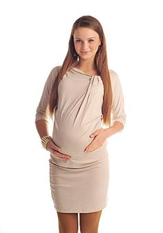 6d020e611 Purpless Maternity Batwing Pregnancy Dress 6407 Variety of Colours at  Amazon Women s Clothing store