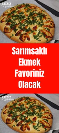 Sarımsaklı Ekmek Favoriniz Olacak - Tr Tutorial and Ideas Easy Cake Recipes, Brunch Recipes, Chocolate Chip Cookies, Turkish Kitchen, Turkish Recipes, Garlic Bread, Quiche, Delicious Desserts, Food And Drink
