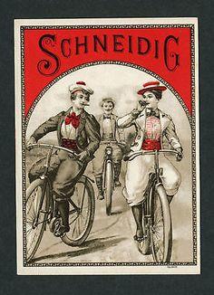 Victorian-Bicycle-Costumes-on-Original-Antique-Cigar-Box-Label-Art