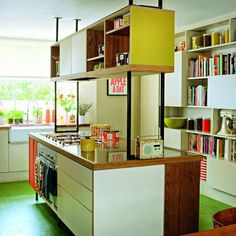 Floating kitchen cabinet is the thing