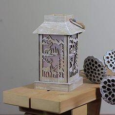 Rustic lanterns are popular this year in home decor for their warmth and charm. Decorate them to make bold statements or simply incorporate them to compliment your decor Rustic Lanterns, Bird Feeders, Outdoor Decor, How To Make, Popular, Home Decor, Decoration Home, Room Decor, Popular Pins