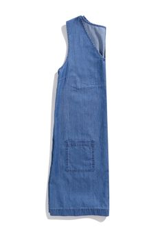 V-neck denim tunic #denim #DorothyPerkins