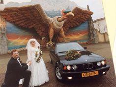Marianne Van Herk en haar man kozen op 18 februari 2000 voor de Efteling als decor voor hun trouwfoto's