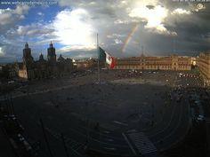 Wonderful view. Historic Center of Mexico City. Maravillosa vista. Centro Histórico de la Ciudad de México.