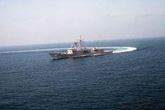 USS Duncan (FFG-10) comes about near San Diego, California.