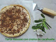 marronglacè: Tarta mousse de crema de cacahuete