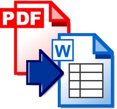 PDF to Word - site that allows you to convert PDF documents to fully editable Word documents.  Turn around time is about 10 minutes, Word file is emailed to you.
