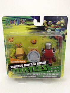 TMNT Teenage Mutant Ninja Turtles Minimates Series 4 Space Suit Donatello