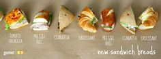 Out the old, in the with the NEW. We have NEW sandwich breads available! #sandwiches #gourmet45 #catering #pretzelrolls