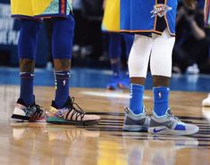 #KevinDurant and the dubs returned to Oklahoma Tuesday 4/3/18 to wrap up series with thunder. Warriors bested Thunder 111-107, splitting season series 2 games a piece. Kevin posted 34 Points,10 rebounds as #KlayThompson added 20 Points.