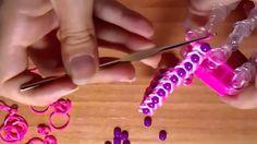 ♥Tutorial:Pulsera de gomitas con perlas♥