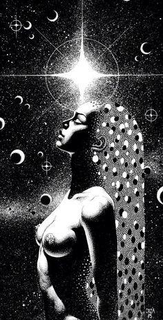 Sacred woman.