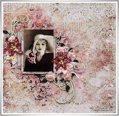 Scrap Made in Touraine: Marilyn