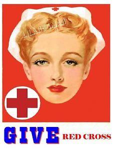 Red Cross Nurse Ad
