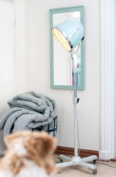 Hairdresser / Hairdryer lamp Diy