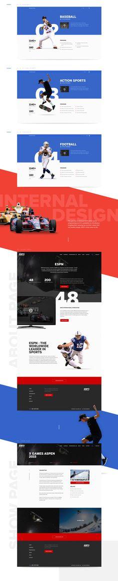 ESPN on Web Design Served