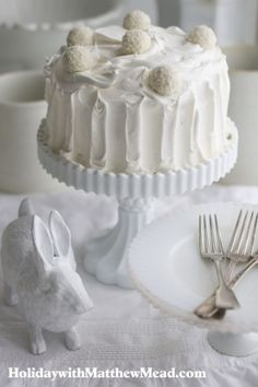 Easter Angel food cake
