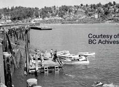 The Pier float Provided Temporary Moorage for Local Boaters Vancouver Chinatown, Vancouver Island, Footprints, History Facts, Westminster, British Columbia, The Rock, Boats, Coastal