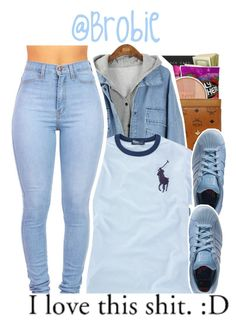 """: 273"" by brobie ❤ liked on Polyvore featuring Ralph Lauren, adidas, women's clothing, women, female, woman, misses, juniors and DopeOutlets"