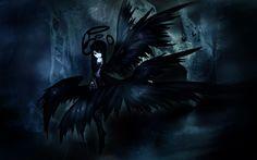 Anime Black Angel Wallpaper Wallpaper