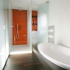 Bathroom, Walk in Shower