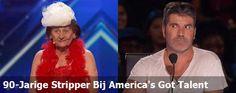90-Jarige Stripper Bij America's Got Talent